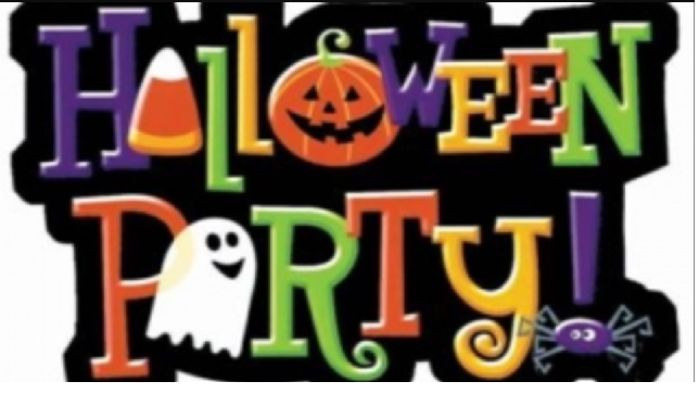 Boo are invited: Halloween Party on Oct. 24th, 1-3:00 p.m.! Games, treats, and pumpkins for ghosts and goblins 12 and under. Please RSVP to 547-5100.