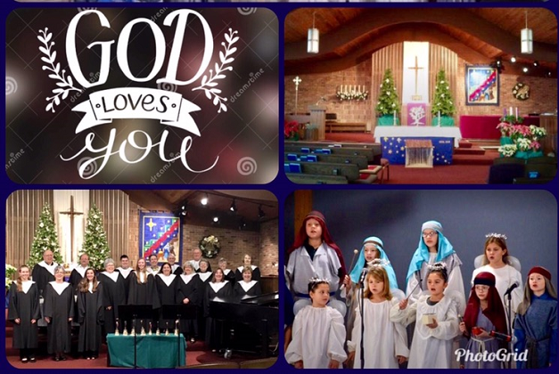 Advent Services: Dec 1, 8, 15, 22nd @ 9:30. Christmas Eve Dec 24th at 4 p.m.